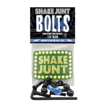 """Shake Junt Spanky Pro Skateboard Fixing Bolts - 7/8"""" Allen"""