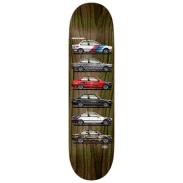 Real Skateboards Ishod Wair Customs Twin Tail Skateboard Deck - 8.25