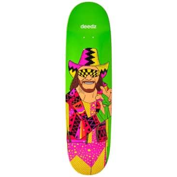 Enjoi Deedz Body Slam WWE R7 Egg Shaped Skateboard Deck - 8.375