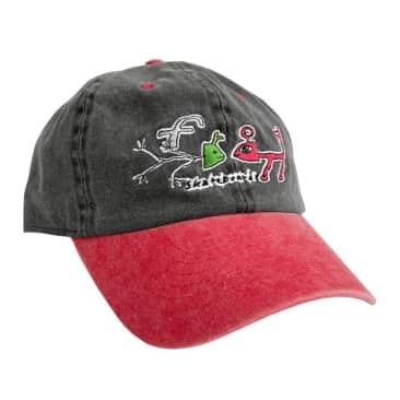 Frog Skateboards Fossil Cap - Black/Red
