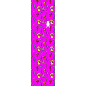Grizzly Grip Have A Nice Trip Graphic Griptape - Pink