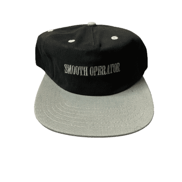 Dial Tone - Smooth Operator Snapback Hat (Black/Silver)