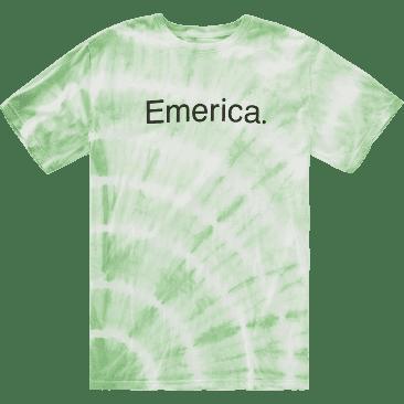 EMERICA PURE TIE DYE TEE - MINT