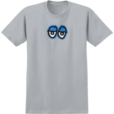 Krooked - Eyes LG S/S T-Shirt - Silver