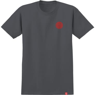 Spitfire - Skewed Classic S/S T-Shirt - Charcoal/Red