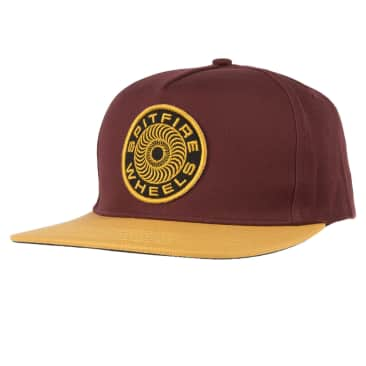 Spitfire - Classic 87 Swirl Patch - Hat - Brown/Yellow/Black