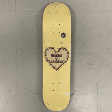 Birdhouse Skateboards Lizzie Armanto Heart Protection Deck 8.0