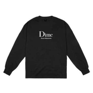 Dime MTL Sous-Vetements L/S T-Shirt Black