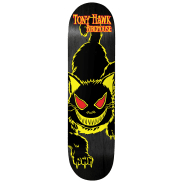 Birdhouse Tony Hawk Evil Cat Skateboard Deck 8""
