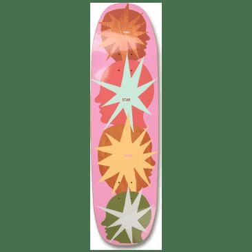 "UMA Landsleds Starhead Buddies Skateboard Deck - 8.9"""