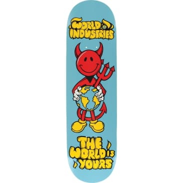 World Industries Devilman 'The World is yours' Skateboard Deck 8.25""
