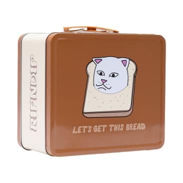 Rip N Dip Gluten Free Tin Lunch Box - Brown