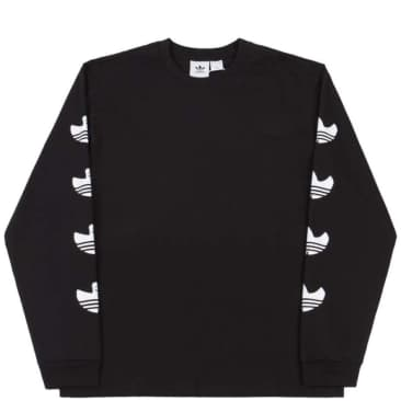 adidas Skateboarding G Shmoo Long Sleeve T-Shirt - Black