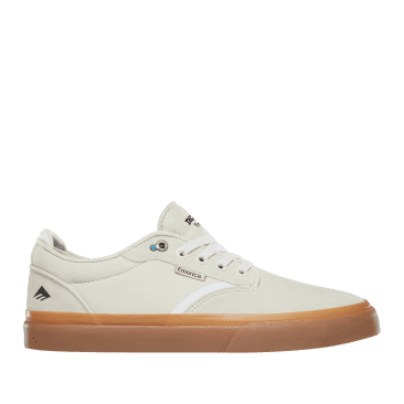 Emerica Dickson Skate Shoes - White / Gum