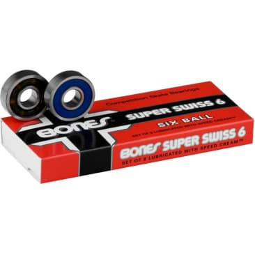 Super Swiss 6 Bearings