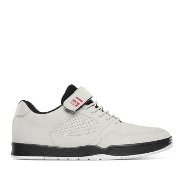 éS Accel Slim Plus Skate Shoes - White / Black