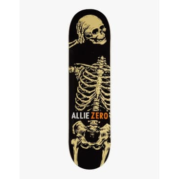 Zero Allie Headcase Skateboard Deck - 8.25""