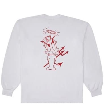 Andrew Rascal Long Sleeve T-Shirt - White