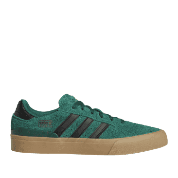 adidas Skateboarding Busenitz Vulc II Shoes - Collegiate Green / Core Black /Gum 4