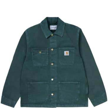 Carhartt WIP Michigan Coat (Summer) - Deep Lagoon / Deep Lagoon (Worn Canvas)