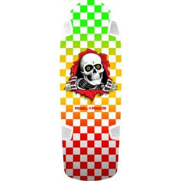 Powell Peralta OG Ripper Checker/Multi Color Deck (10.0)
