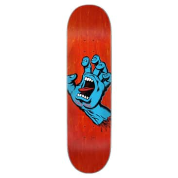 Santa Cruz Screaming Hand Deck - 8""