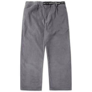 Butter Goods High Wale Cord Pants - Grey