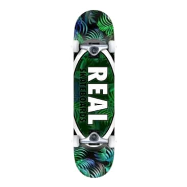"Real Tropic Ovals II 7.5"" Complete Skateboard"