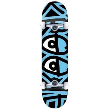 """Krooked Skateboards Big Eyes Too Blue Complete Skateboard 7.75"""""""