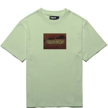 Chrystie NYC Trilogy Logo T-Shirt - Dill Green