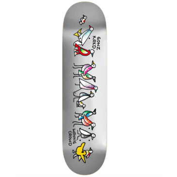 """Krooked Gonz """"Wrong Crowd"""" 8.38 Deck"""