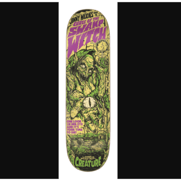 "Creature - Wilkins Wicked Tails Deck (8.8"")"