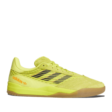 adidas Skateboarding Copa Nationale Shoes - Acid Yellow / Core Black / Gum