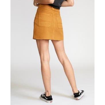 RVCA Women's Denim Mini Skirt