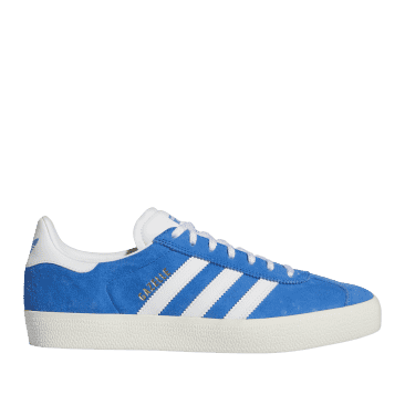 adidas Skateboarding Gazelle ADV Shoes - Blue Bird / Ftwr White / Chalk White