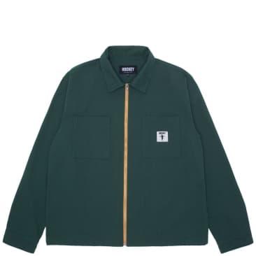 Hockey Zip Jacket - Dark Green
