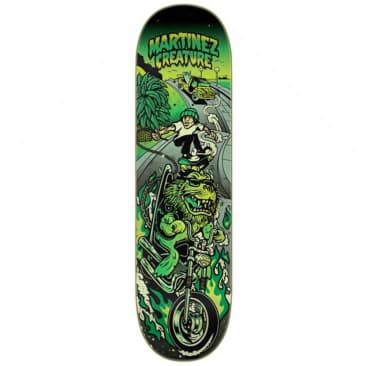 "Creature Skateboards - Milton Martinez Playa Grande Deck 8.6"" Wide"