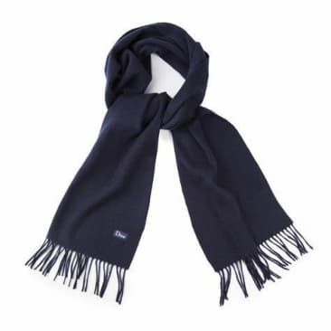 DIME CASHMERE SCARF - NAVY
