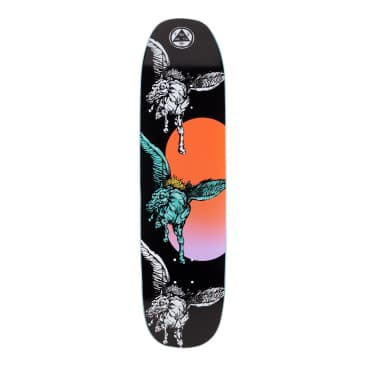 """Welcome Skateboards - 8.25"""" Peggy on Son of Moontrimmer Deck (Black)"""