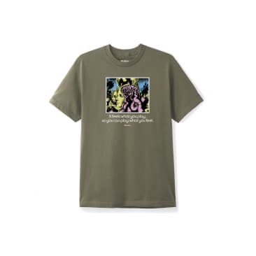 Butter Goods - Feeling Tee - Army