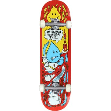 World Industries Wet Willy 'Regret' Complete Skateboard 8.25""