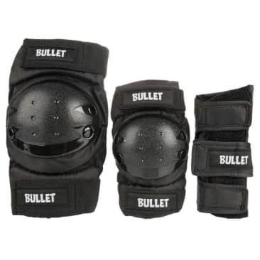 Bullet Combo Standard Skateboard Padset - Adult