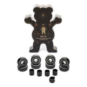 Grizzly Griptape Black Bearings - Abec 9