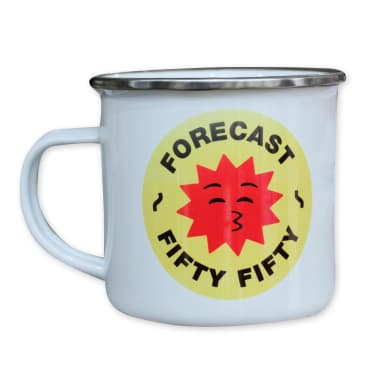 Fifty Fifty X Fore-Cast Camping Mug