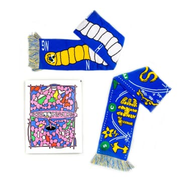 Tomorrow x Village Books x Headlock - Bookworm Scarf & Zine Pack