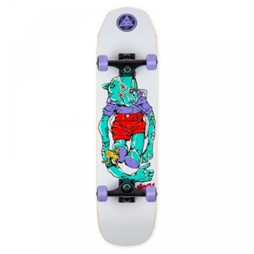 """Welcome Skateboards - Welcome Skateboards Teddy on Wicked Princess Complete White 