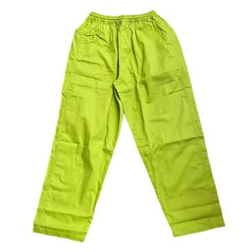 Southside 94 Script Pant Embroidered Lime