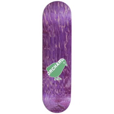 "Orchard Bird Logo Deck Green/White 7.87"" M1"
