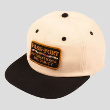 Pass~Port Inter Solid Patch Cap - Natural / Black