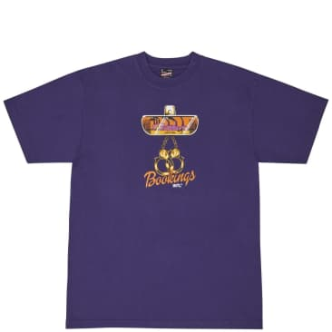 Central Bookings Rearview T-Shirt - Purple